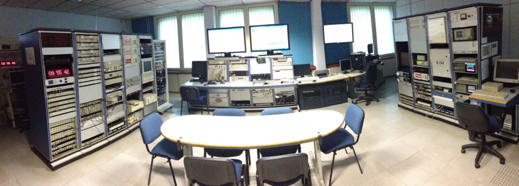 "INRIM Time and Frequency Laboratory ""Monitor and Control Room"""